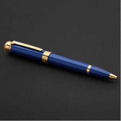 قلم نيتو ماراني ذهبي أزرق غامق - P123GD
