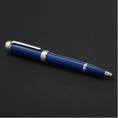 قلم نيتو ماراني فضي أزرق غامق - P123SD