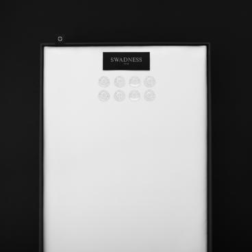 قماش سوادنس أبيض SW1030