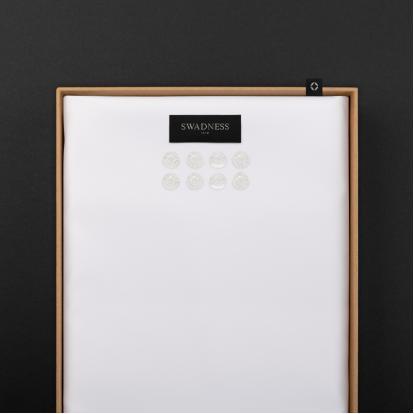 قماش سوادنس أبيض SW5010