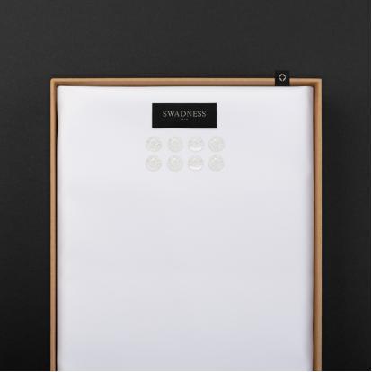 قماش سوادنس أبيض SW5030