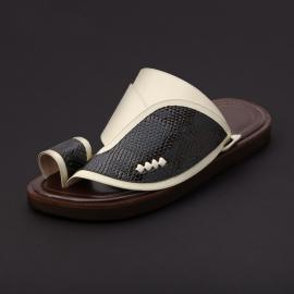 حذاء شرقي جلد سحلية ML20