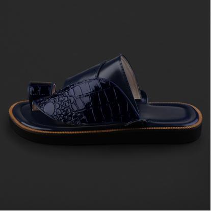 حذاء شرقي بنقشة جلد التمساح - SS8002