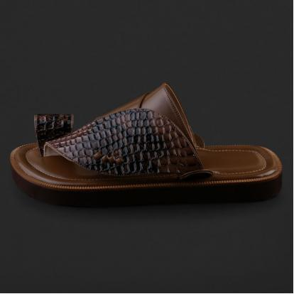 حذاء شرقي بنقشة جلد الثعبان - SS2003