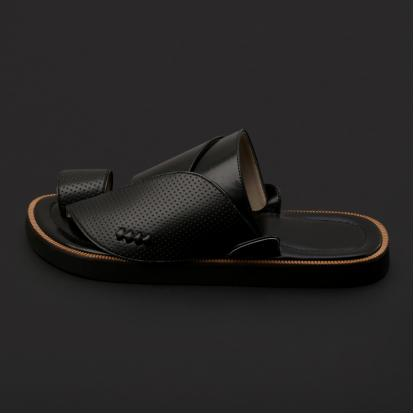 حذاء شرقي كلاسيكي جلد مخرم - SS4002