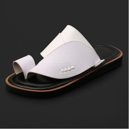 حذاء شرقي كلاسيكي جلد مخرم - SS4004