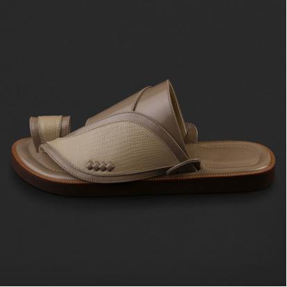 حذاء شرقي بنقشة جلد السحلية - SS5001