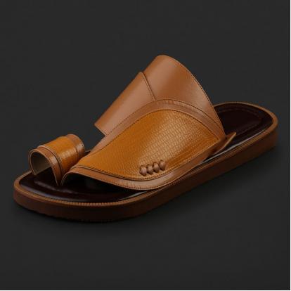حذاء شرقي بنقشة جلد السحلية - SS5002