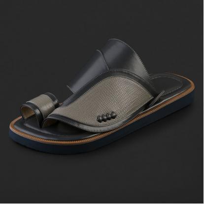 حذاء شرقي بنقشة جلد السحلية - SS5004