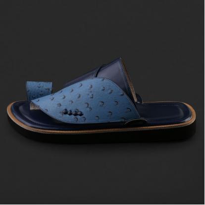 حذاء شرقي بنقشة جلد النعام - SS7005