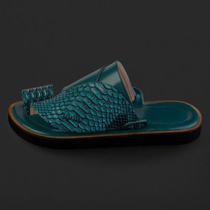 حذاء شرقي نقشة ساق النعام SD105
