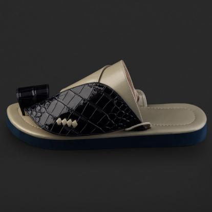حذاء شرقي نقشة جلد التمساح SD109
