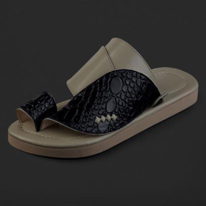 حذاء شرقي نقشة جلد التمساح SD110