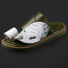 حذاء سوادنس شرقي نقشة ساق النعام SD112