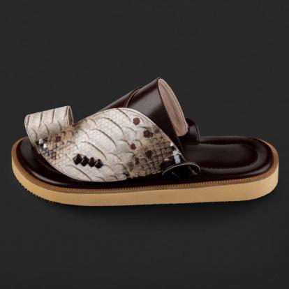 حذاء شرقي نقشة ساق النعام SD113