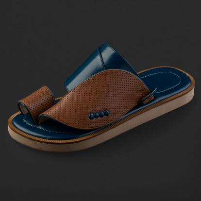 حذاء شرقي جلد مخرم SD114