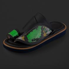 حذاء سوادنس شرقي نقشة جلد الثعبان SD122