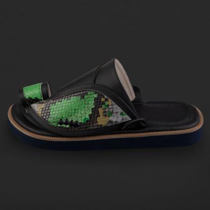 حذاء شرقي نقشة جلد الثعبان SD122