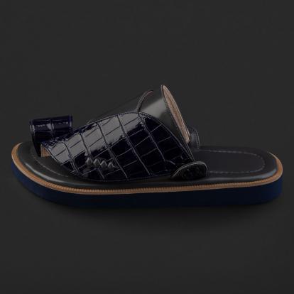 حذاء شرقي نقشة جلد التمساح SD123