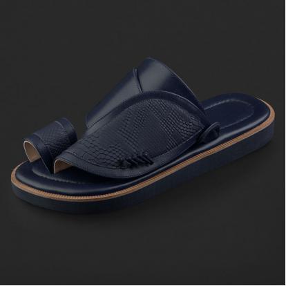 حذاء شرقي بنقشة ساق النعام SE7105