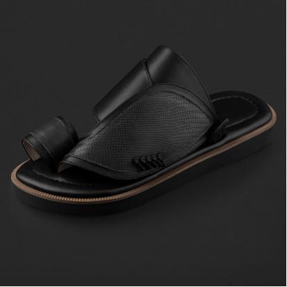 حذاء شرقي بنقشة جلد السحلية SE8102