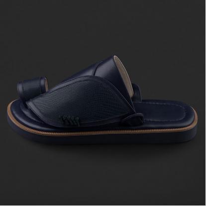 حذاء شرقي بنقشة جلد السحلية SE8105