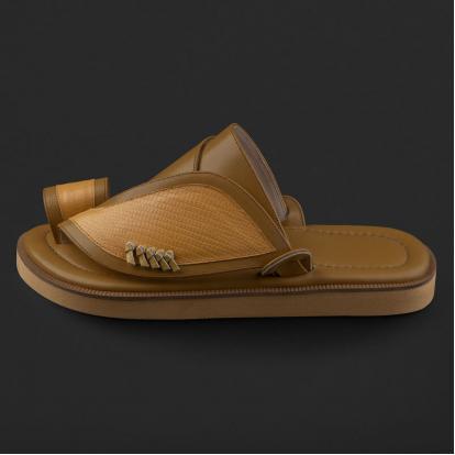 حذاء شرقي بنقشة جلد السحلية SE8113