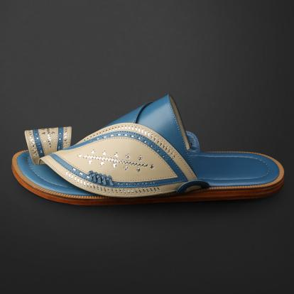 حذاء شرقي مطرز - SS11009