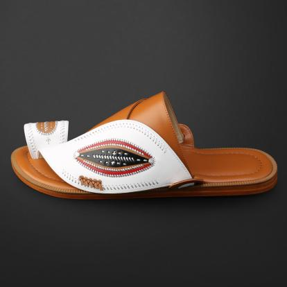 حذاء شرقي مطرز - SS11010