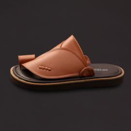 حذاء شرقي كلاسيك جلد بني SS1762
