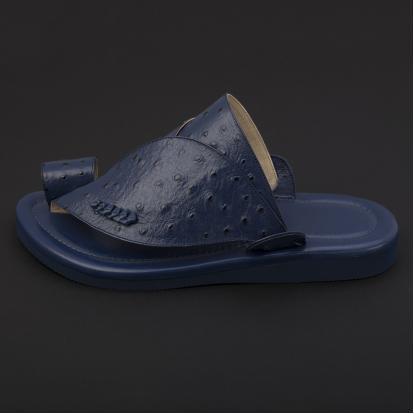 حذاء شرقي جلد لون كحلي SS1897