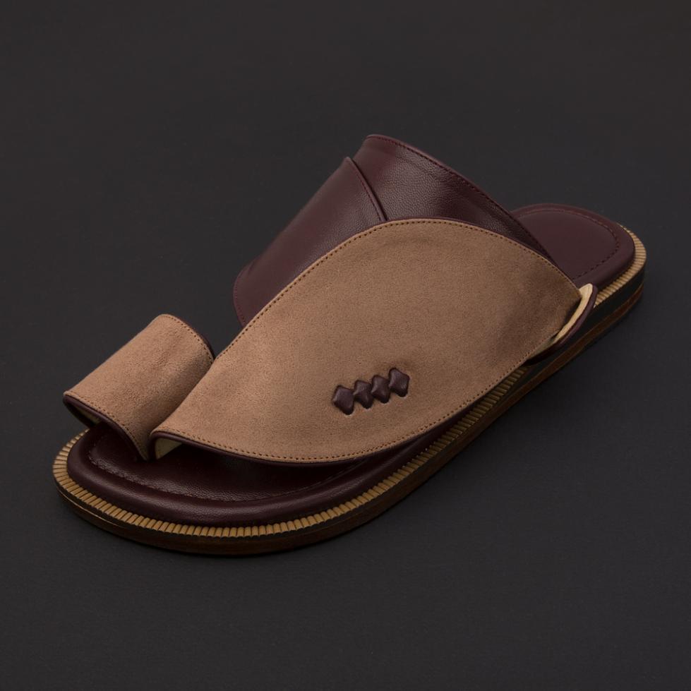 حذاء شرقي شمواه عنابي SS1873