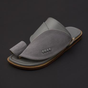 حذاء شرقي شمواه رمادي SS1874