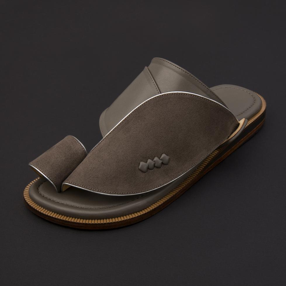 حذاء شرقي شمواه رصاصي SS1875