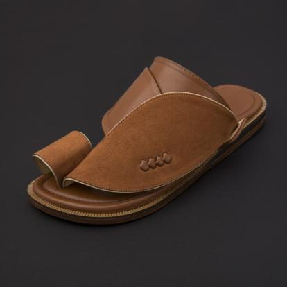 حذاء شرقي شمواه بني SS1876