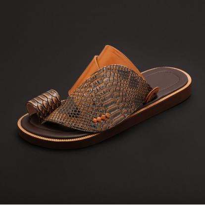 حذاء شرقي جلد تمساح MK40