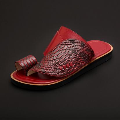 حذاء شرقي جلد تمساح MK30