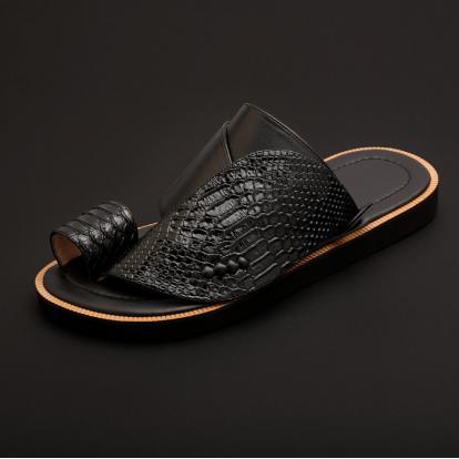 حذاء شرقي جلد تمساح MK10