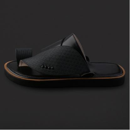 حذاء شرقي جلد مربعات - SS6002