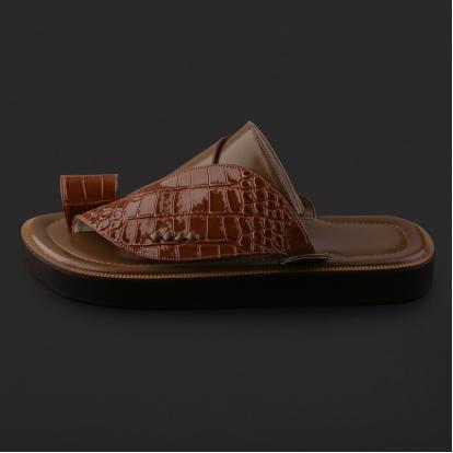 حذاء شرقي بنقشة جلد التمساح - SS8003
