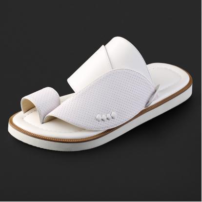 حذاء شرقي كلاسيكي جلد مخرم - SS4006