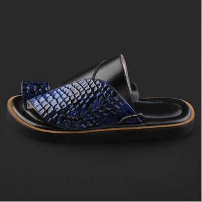 حذاء شرقي بنقشة جلد الثعبان - SS2006